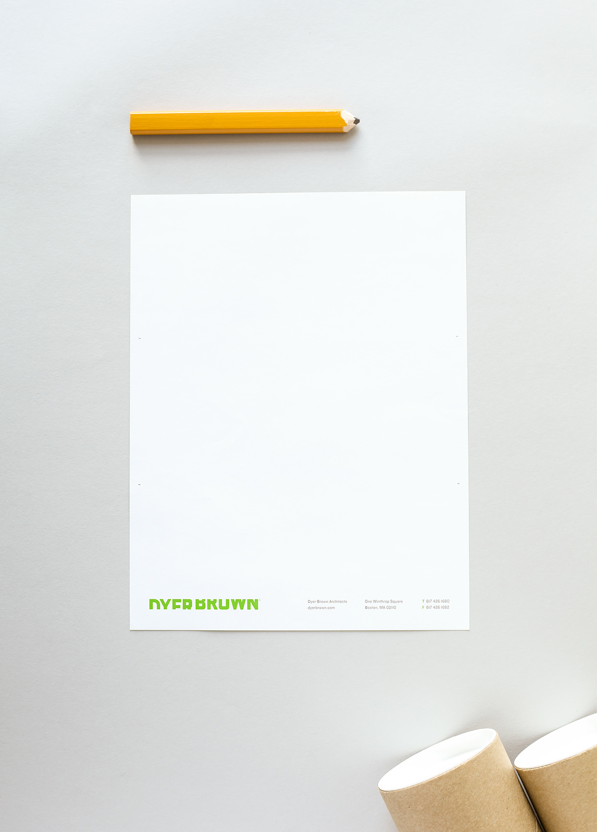 MilesHerndon_DyerBrown_Stationery